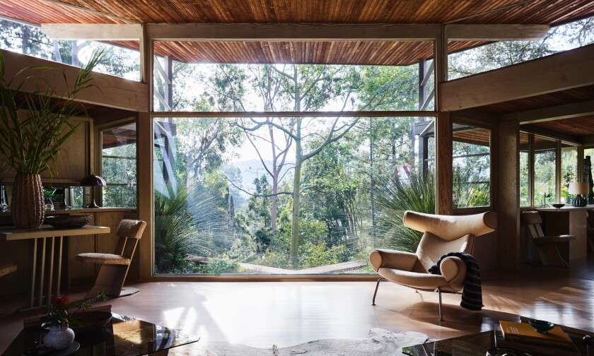 Rudolph Schindler-designed home in Studio City