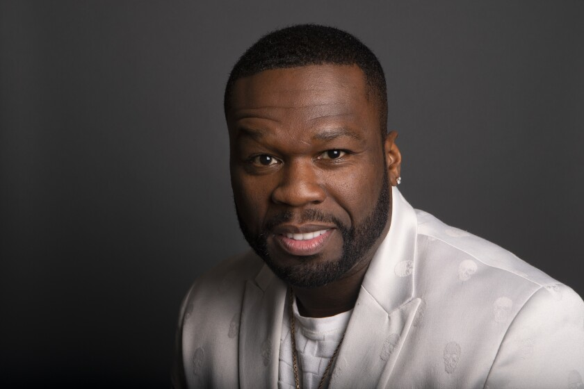 """Curtis """"50 Cent"""" Jackson, executive producer and actor on Starz's """"Power"""""""