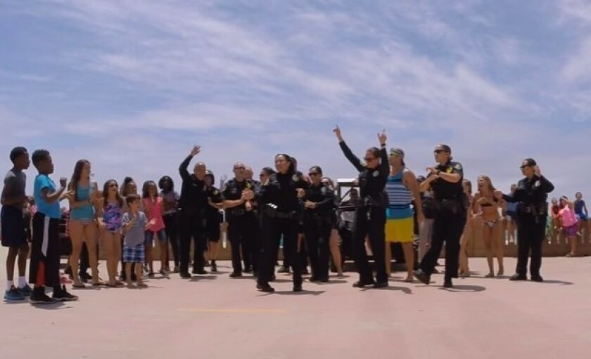 SDPD takes 'Running Man' challenge, issues dare of their own