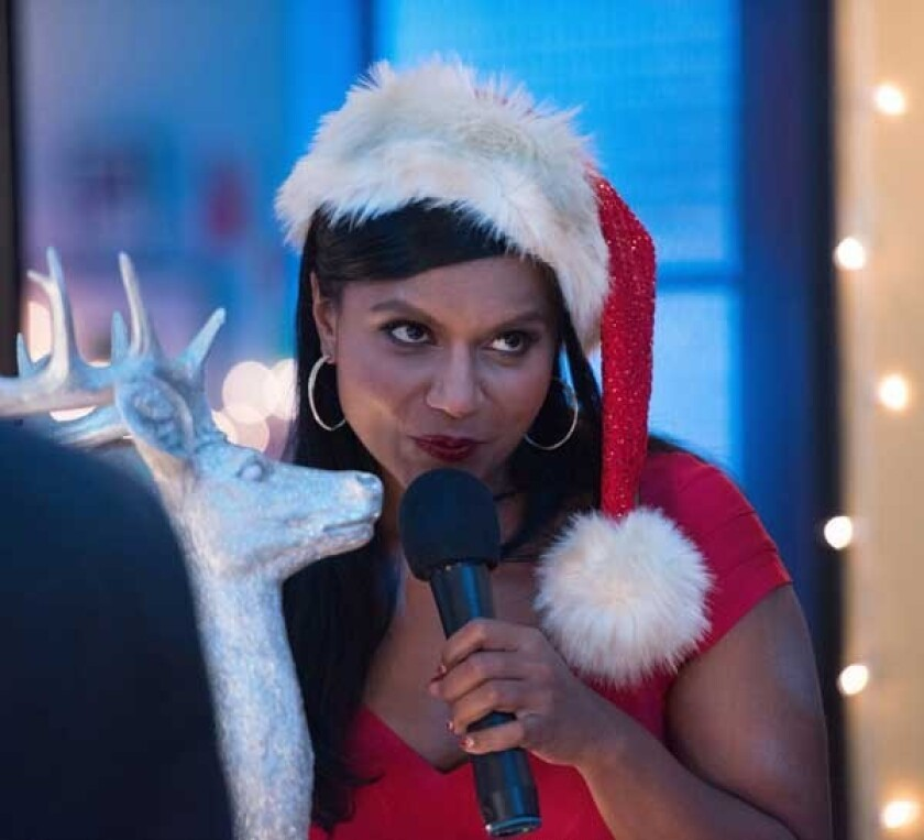 "Mindy Kaling in ""The Mindy Project"" on Fox."