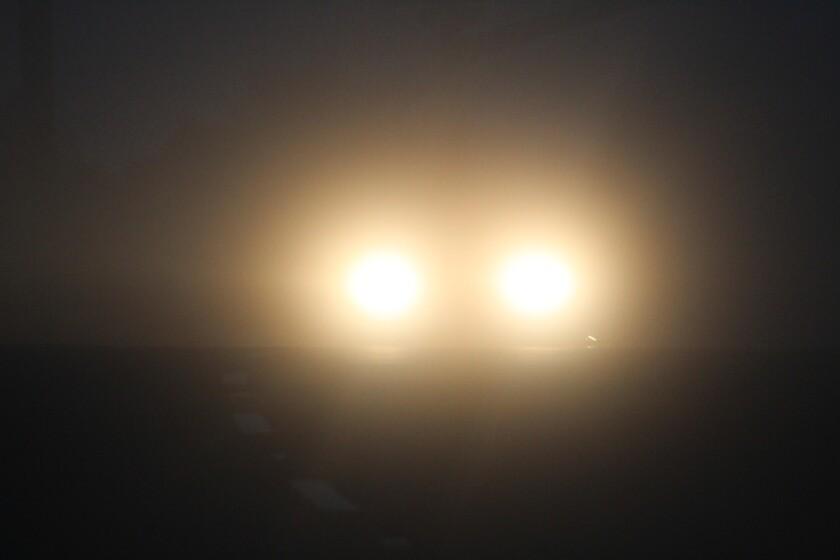 La niebla podría desarrollarse el martes por la noche en partes del interior del condado de San Diego.