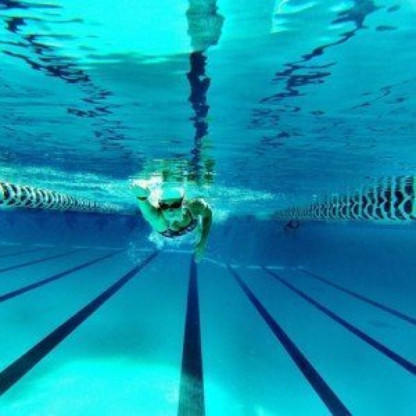 Participants will swim laps in relay during the Swim24 fundraiser, Aug. 30-31 at UC San Diego. Courtesy