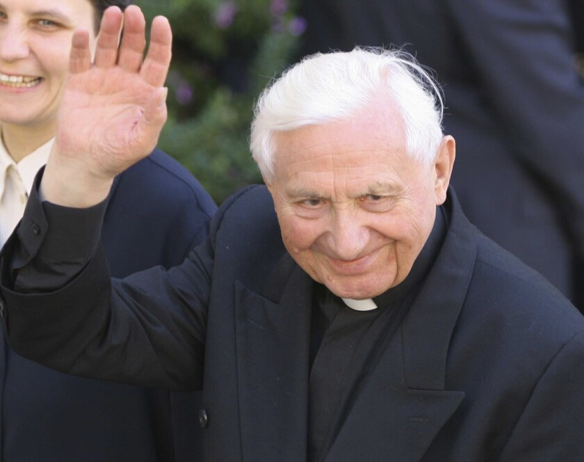 The Rev. Georg Ratzinger