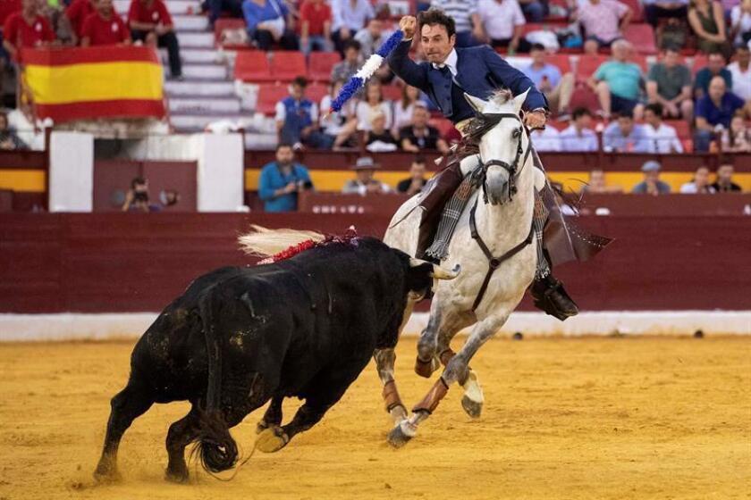 Andy Cartagena, rejoneador español. EFE/Archivo