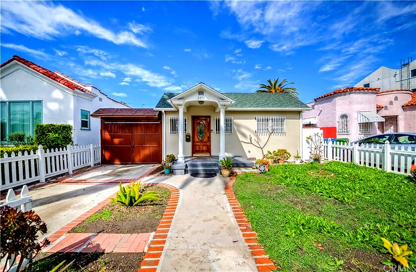 A home for sale this month in Los Angeles.