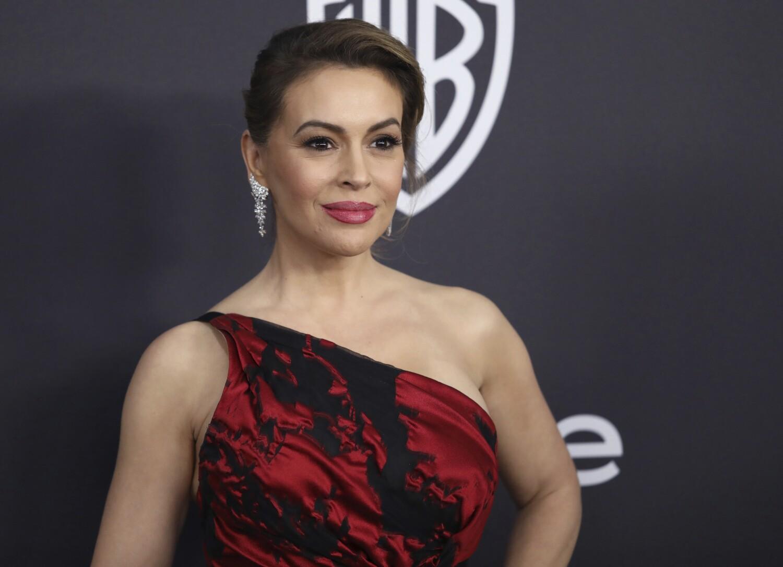 Actor Alyssa Milano has her eye on a congressional seat in California