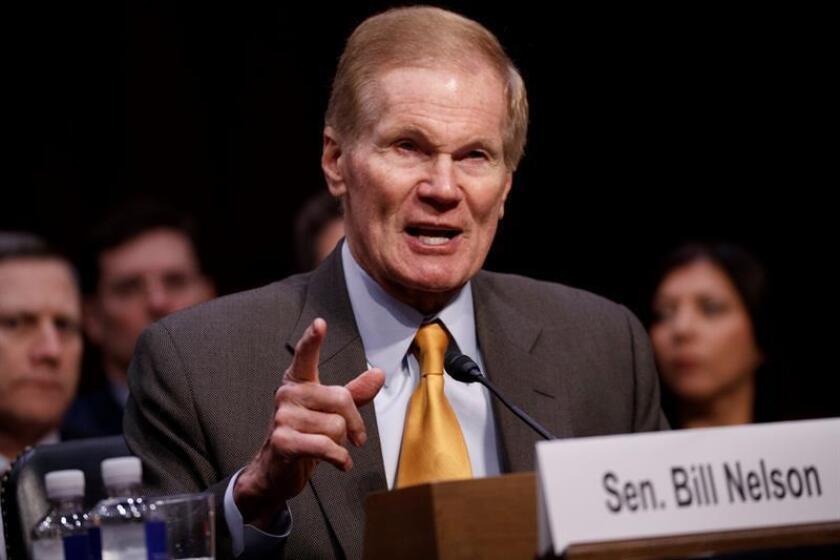 El senador demócrata por Florida Bill Nelson testifica ante el comité judiciario del Senado en Washington D.C (Estados Unidos). EFE/Archivo