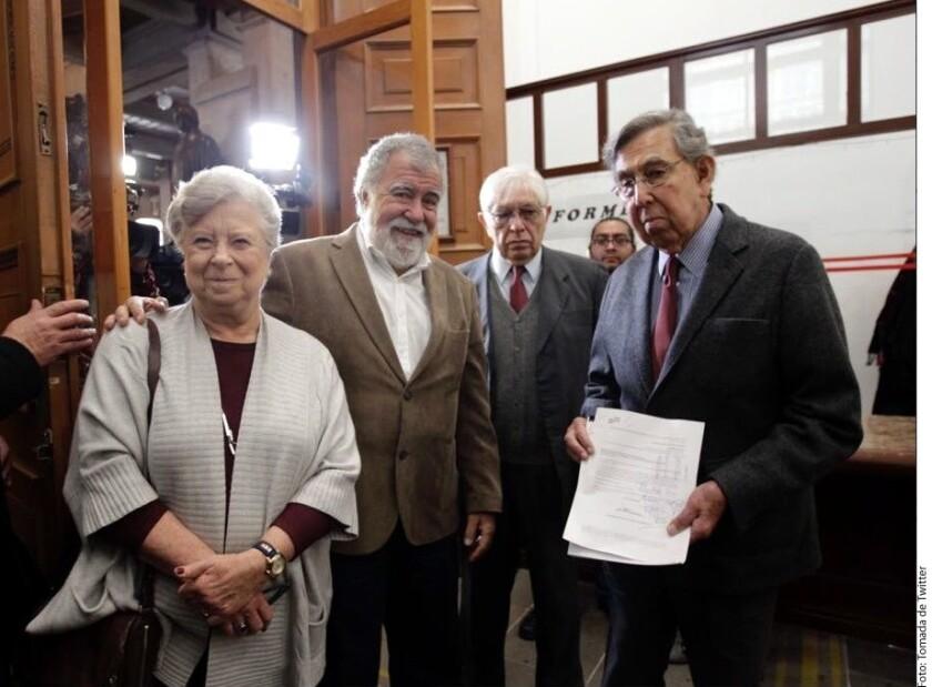 La asociación liderada por Cuauhtémoc Cárdenas, Por México Hoy, presentó un escrito ante la Suprema Corte de Justicia de la Nación para impugnar la Ley de Seguridad Interior.