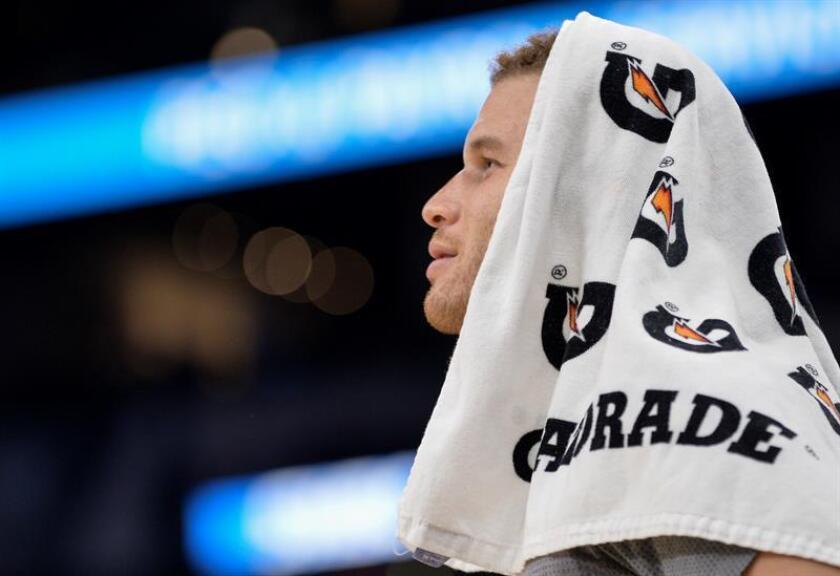 El jugador Blake Griffin de Clippers. EFE/Archivo