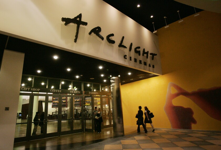 The Arclight Theater in the Sherman Oaks Galleria
