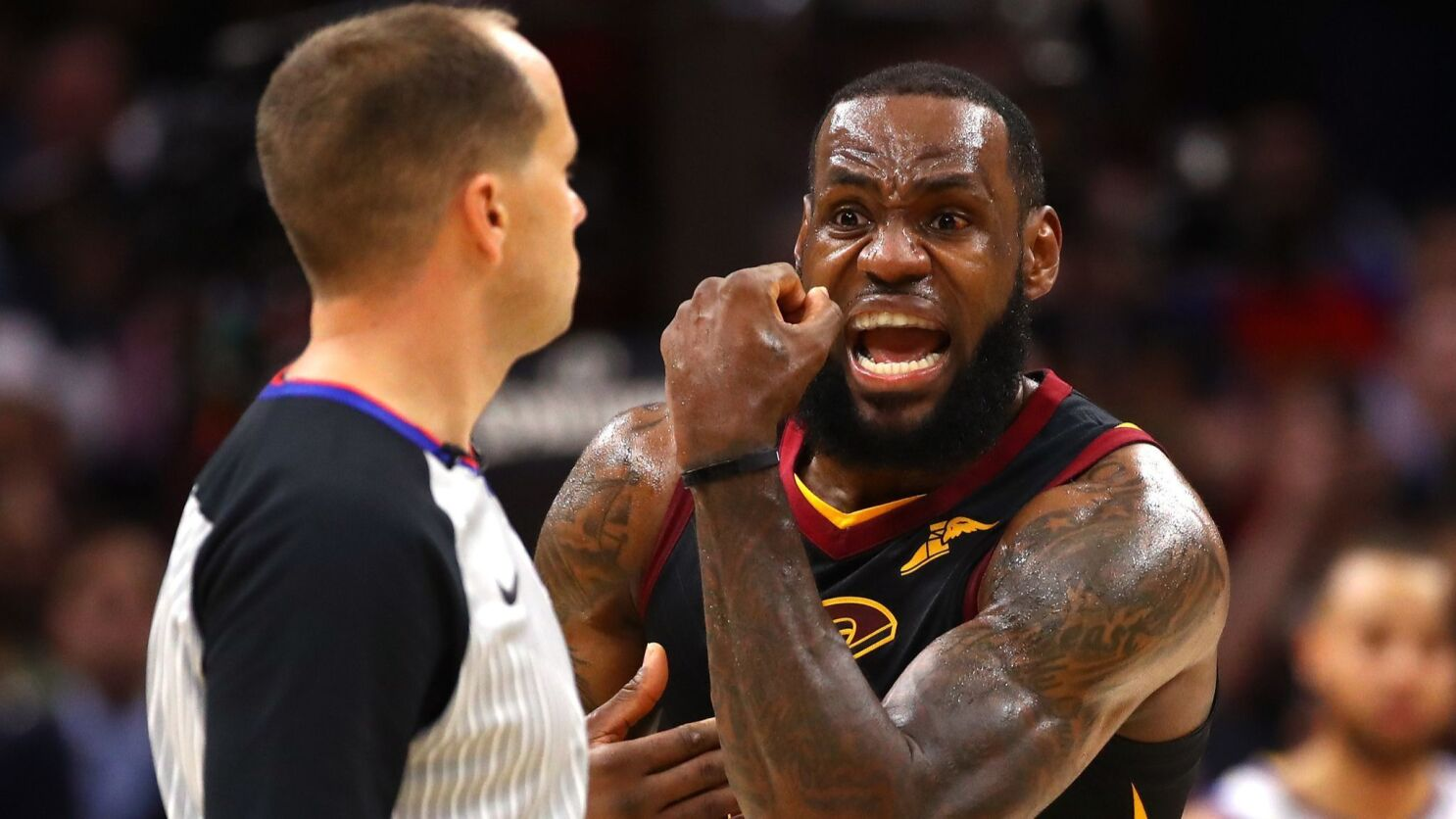 new concept 2a4ee 1eba7 While Warriors seek a rare NBA Finals sweep, LeBron James ...