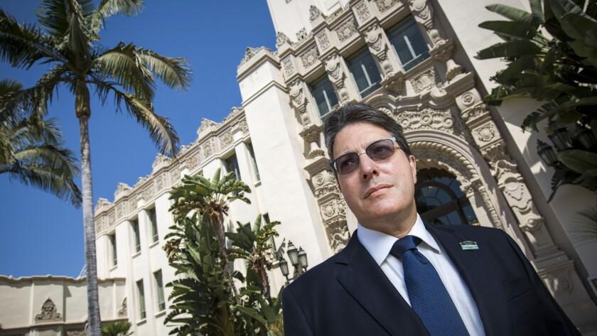 Beverly Hills Mayor John Mirisch at City Hall.