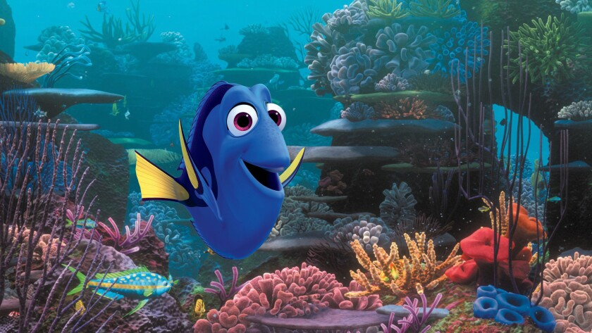 """Composer Thomas Newman's music for """"Finding Dory"""" channels into the sense of delight, loopiness and quirkiness of Ellen DeGeneres's star blue tang fish."""