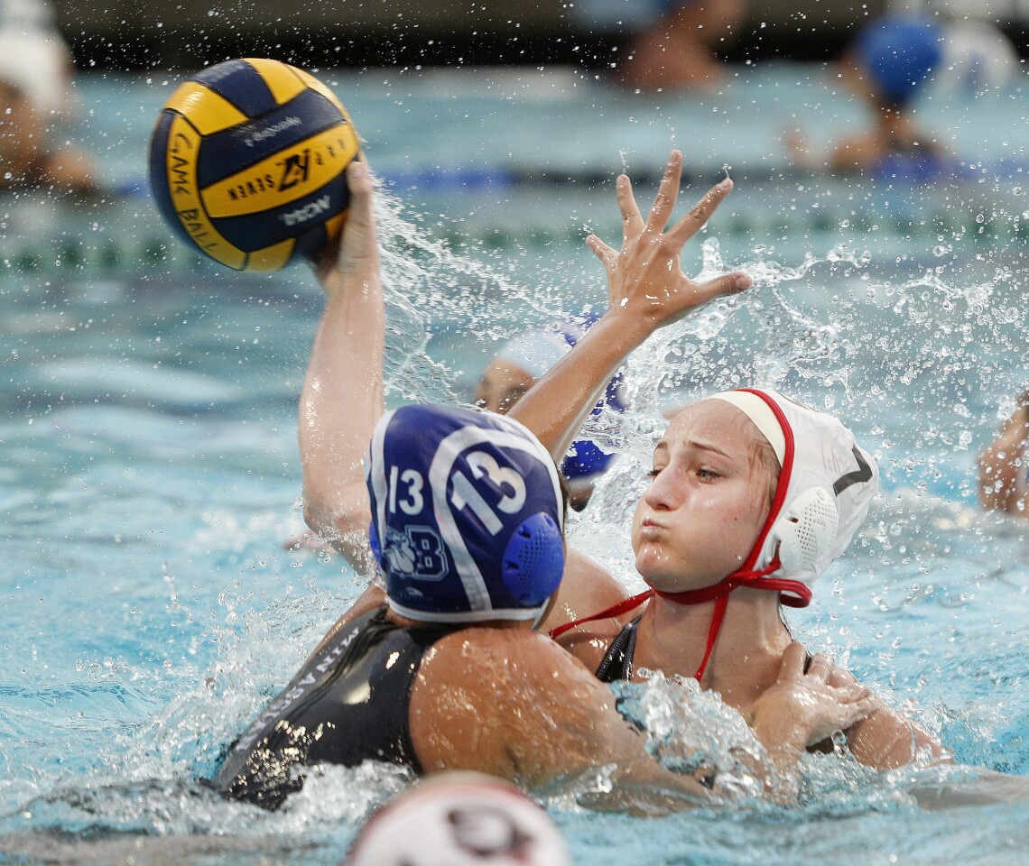 Photo Gallery: Burbank vs. Glendale in Pacific League girls water polo