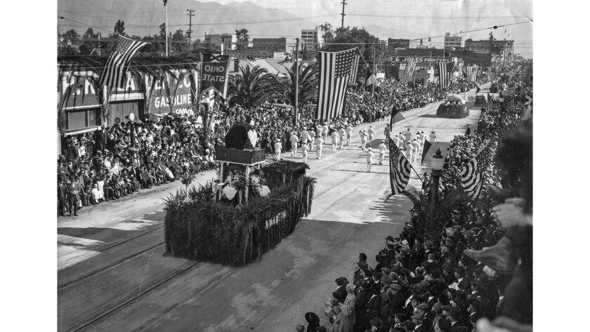 The 1920 Rose Parade