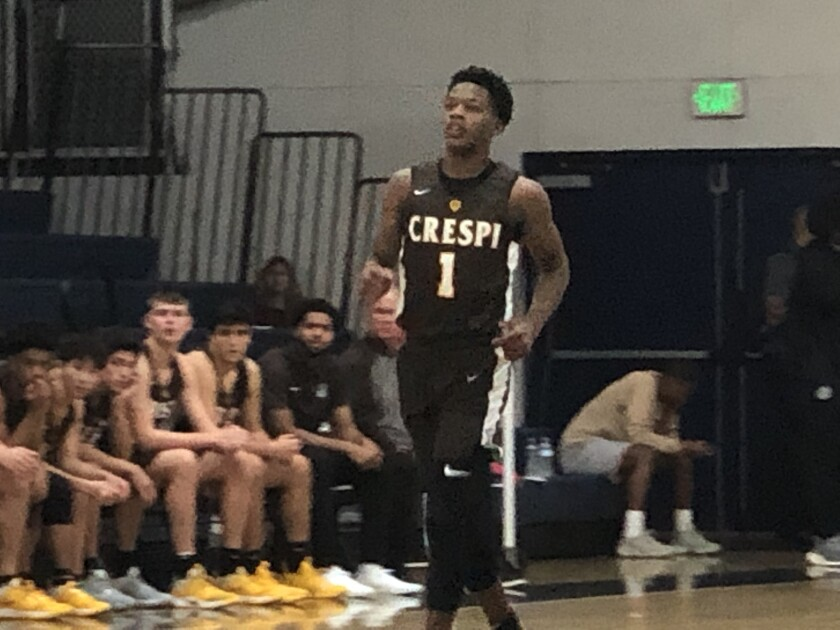 Freshman Mike Price of Crespi is the latest top guard prospect for the Celts.