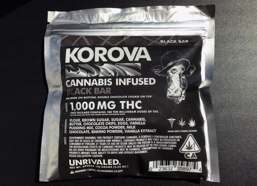 cannabis black bar