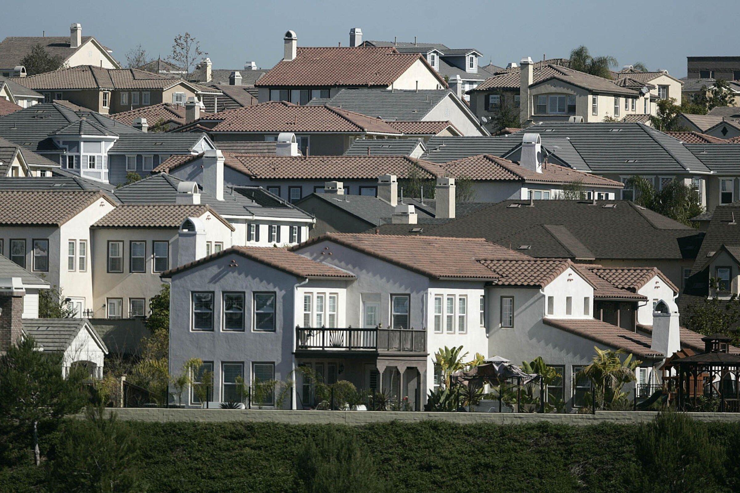 Homes in Carlsbad.