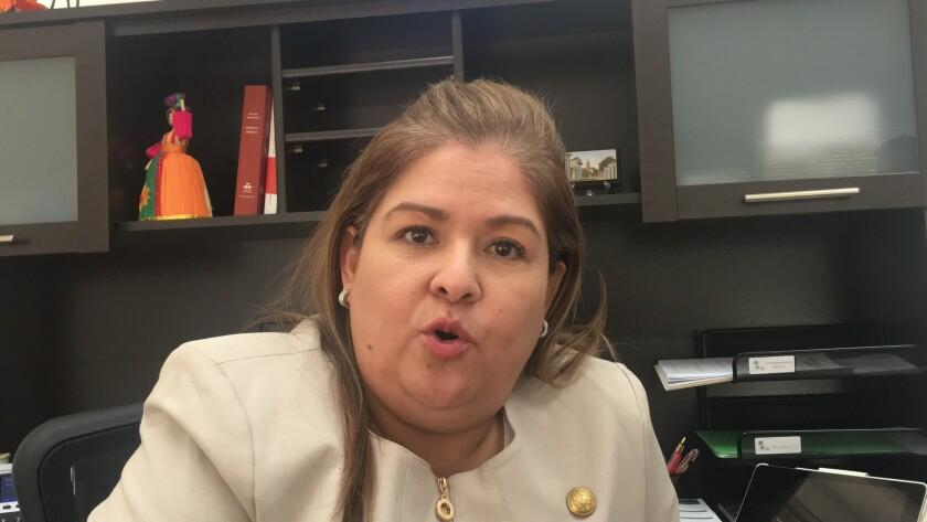 La cónsul general de El Salvador, Alicia Villamariona, asumió su cargo en octubre de 2019.