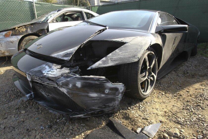 Abandoned Lamborghini