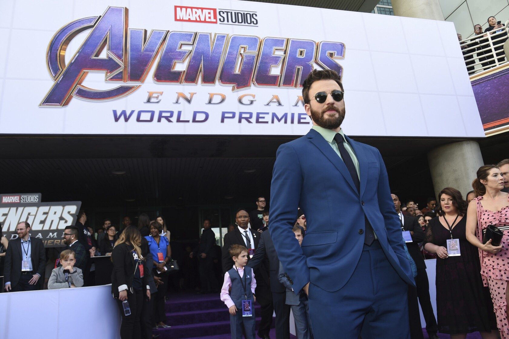 Avengers get epic send-off at 'Endgame' world premiere - The