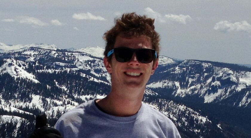 Nicholas Fagnano, 20, was killed after lightning struck while he was in the water at Venice Beach on Sunday.