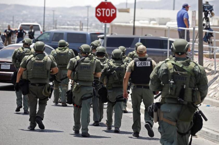 US authorities: El Paso massacre being treated as domestic terrorism