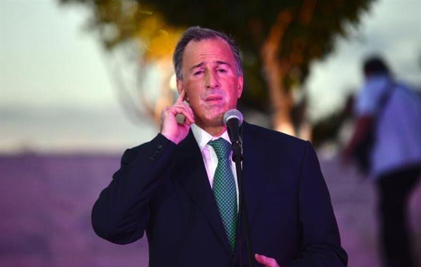El candidato a la Presidencia de México, el oficialista José Antonio Meade. EFE/Archivo
