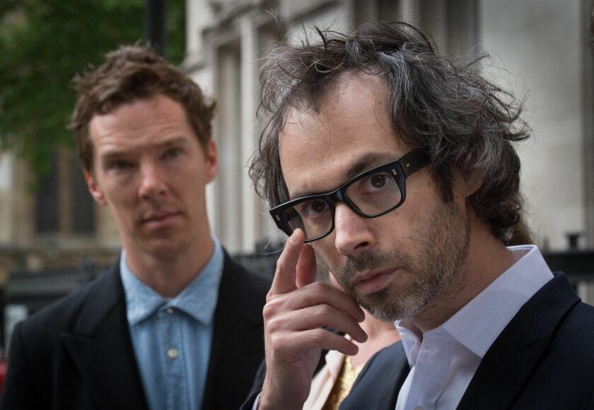 """Concert pianist James Rhodes, right, and actor Benedict Cumberbatch leave the Supreme Court in London, Wednesday, May 20, 2015. Britain's Supreme Court has ruled that a pianist may publish a memoir detailing sexual abuse he suffered as a child, despite his ex-wife's privacy concerns. His ex-wife had argued that their 12-year-old son suffers from a number of health issues and could be caused serious harm by the publication. Supported by his friend, the actor Benedict Cumberbatch, outside the court, he called the ruling """"a victory for freedom of speech."""" (Stefan Rousseau/PA via AP) UNITED KINGDOM OUT - NO SALES - NO ARCHIVES"""
