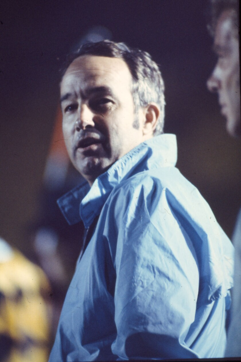 Pepper Rodgers coached UCLA's football team from 1971-73.