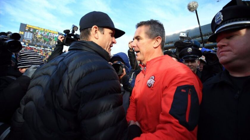 The Big Ten's future in the College Football Playoff hinges on No. 2 Ohio State vs. No. 3 Michigan