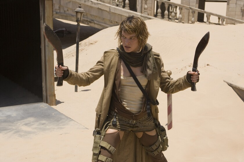 """Actress Milla Jovovich, seen here in """"Resident Evil: Extinction,"""" is among those newly invited to join the Academy of Motion Picture Arts and Sciences."""