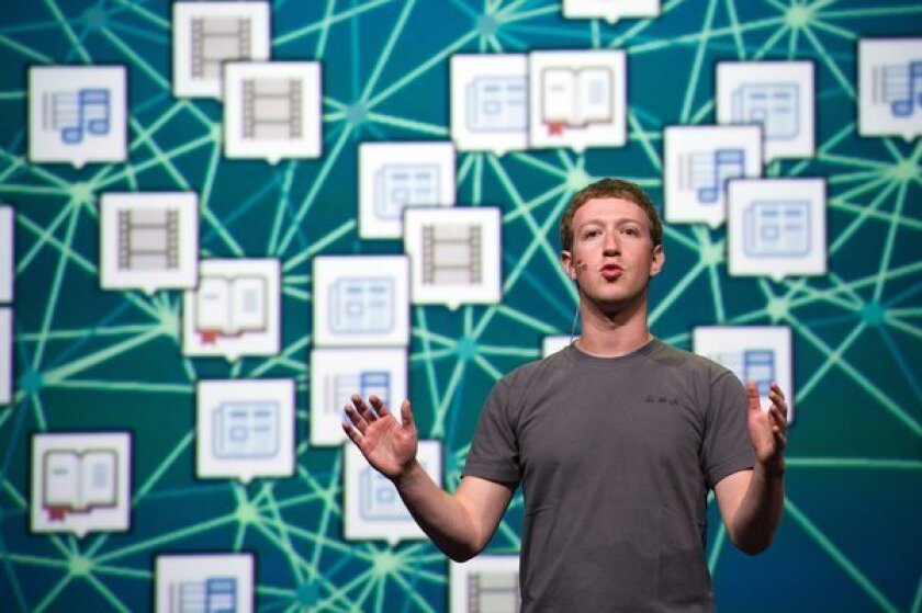 """Mark Zuckerberg, chief executive officer and founder of Facebook Inc., speaks at Facebook's F8 developers conference in San Francisco on Sept. 22, 2011. From the Erie Canal to the Internet by way of the transcontinental railroads and the Interstate Highway System, the American state has played a strategic role in the deployment of the transformational technologies that have created a succession of """"new economies."""""""