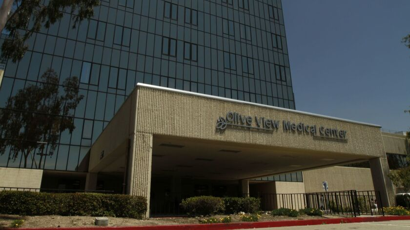 Olive View-UCLA Medical Center in Sylmar is among the facilities overseen by the L.A. County Department of Health Services. A contractor for the agency was the victim of a phishing attack that led to data breach affecting thousands of patients.
