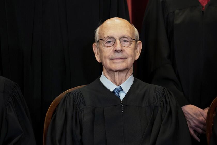 Supreme Court Justice Stephen Breyer.