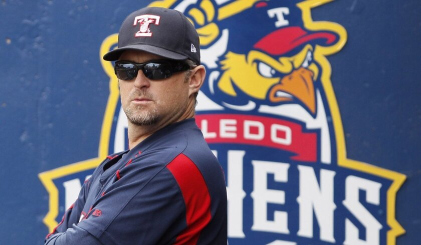 Former Padres slugger Phil Nevin is manager of the Detroit Tigers' Triple-A Toledo Mud Hens.