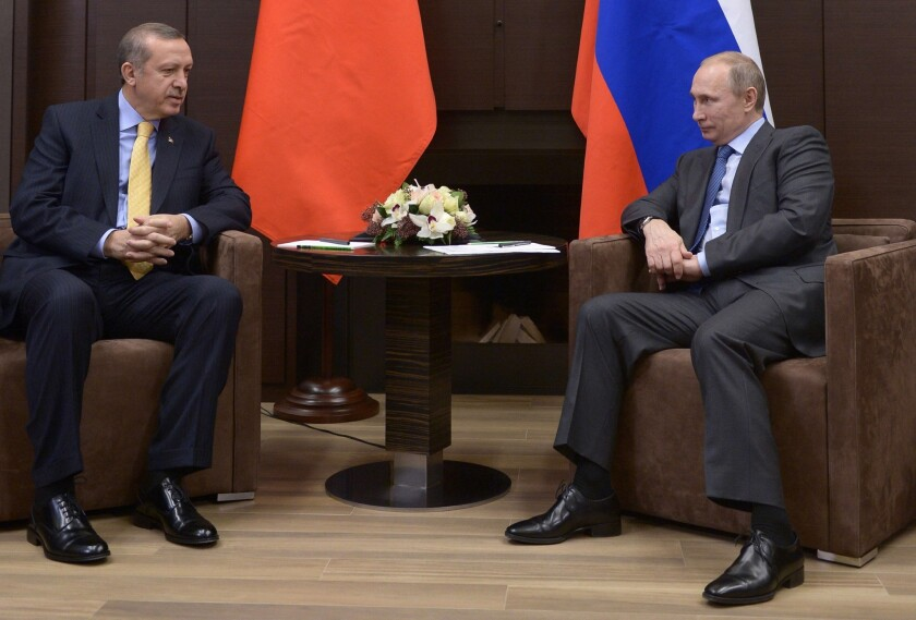 Putin meets with world leaders