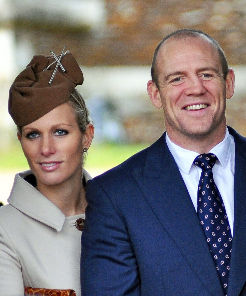Zara Phillips gives birth to girl