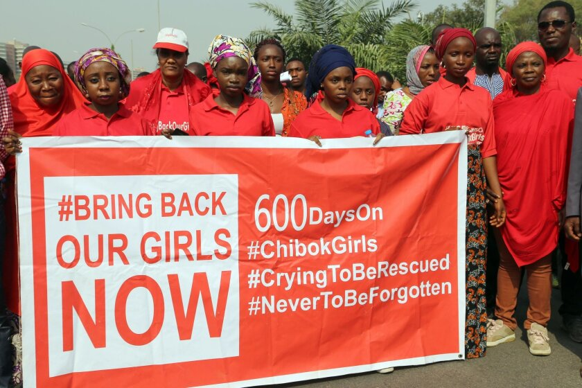 Bring Back Our Girls activists