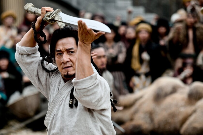 "Jackie Chan in ""Dragon Blade."""