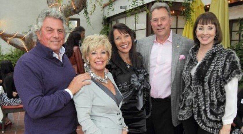 Bertrand Hug, Judy Ferrero, Maggie Bobileff, Gary Bobileff, Denise Hug