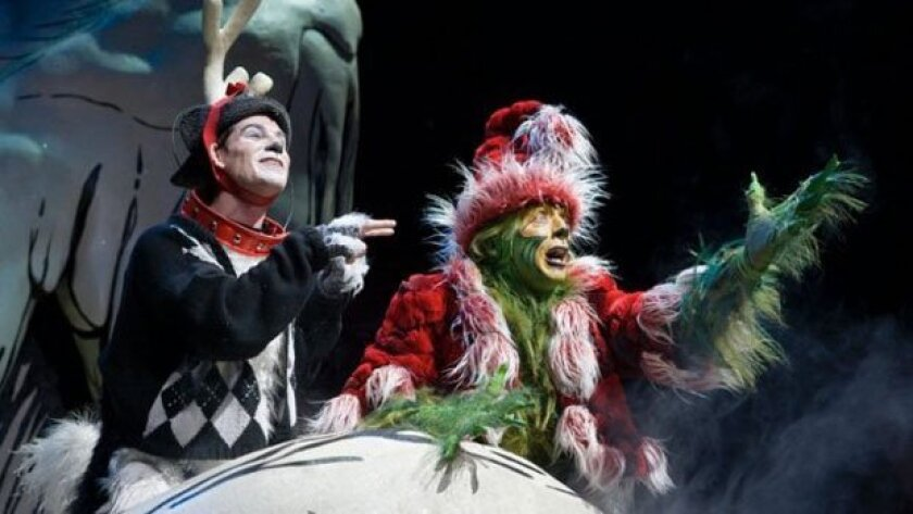 Dr. Seuss' How the Grinch Stole Christmas at The Old Globe Theatre
