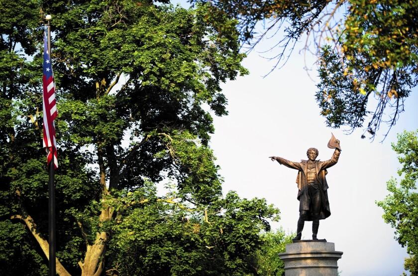 Francis Scott Key statue