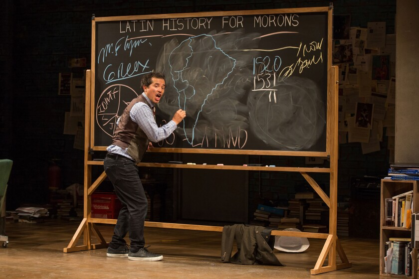 "John Leguizamo in ""Latin History for Morons"""