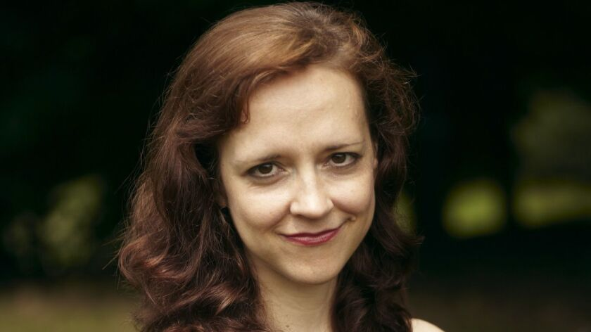 Mystery writers Megan Abbott(pictured) and Lisa Lutz keep the balance of power in check on 'The Deuc