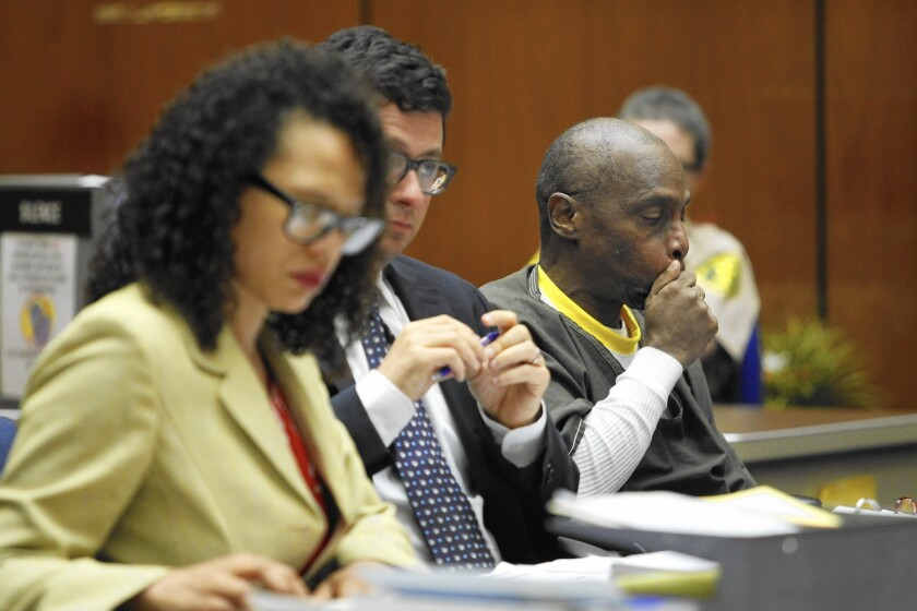 Lester Wallace, right, is a three-striker seeking a reduced sentence.