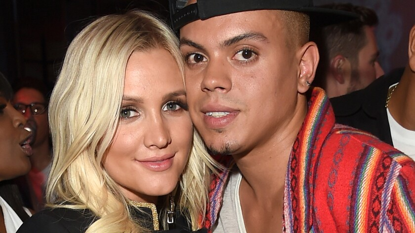 Ashlee Simpson and Evan Ross have welcomed a baby daughter.