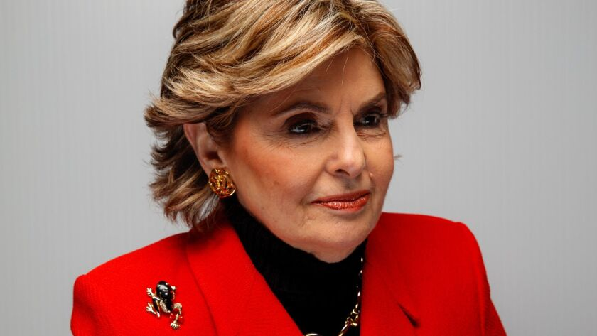 "Gloria Allred, photographed in the L.A. Times Studio during the Sundance Film Festival, is the subject of the Netflix documentary ""Seeing Allred."""