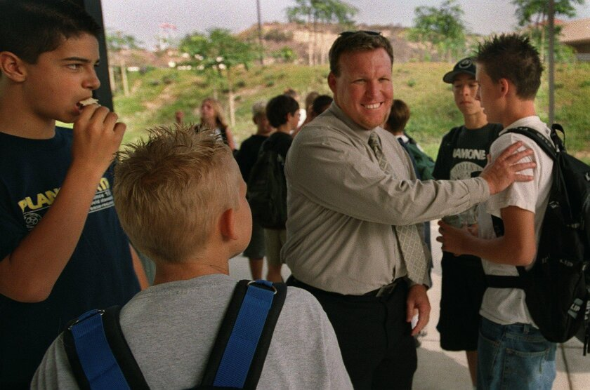 Steve Van Zant in 2008 when he was a principal in Carlsbad.