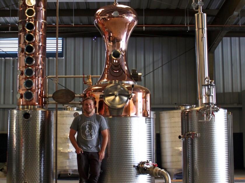 Michael Skubic, founder of Old Harbor Distilling Co.